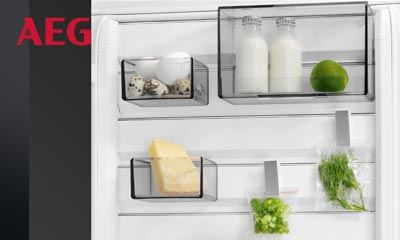 Kühlschrank Q : Aeg kühlschrank mit customflex ihr elektriker in geeste